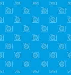 top secret pattern seamless blue vector image