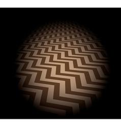 Zigzag background vector image