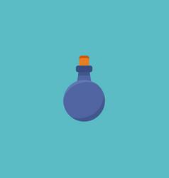 flat icon mana potion element vector image