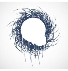 Banner swirl vector image