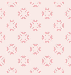 Cute floral seamless pattern for girls vector