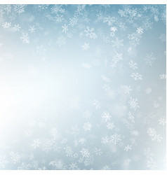 festive winter blurred background eps 10 vector image