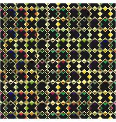 Black crosses pattern vector image
