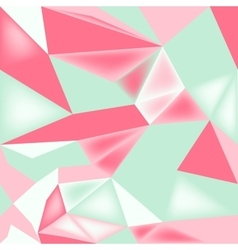 seamless poly pattern vector image