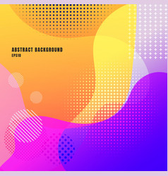 abstract liquid or fluid creative templates with vector image