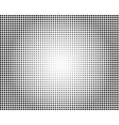 black halftone overlaying background vector image