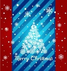 Christmas Greeting Card Merry Christmas vector