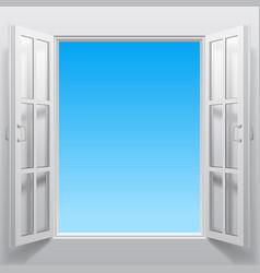 Double window into sky vector