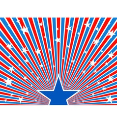 July 4th background vector image