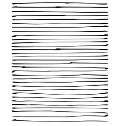 Liquid organic black stripe lines pattern on white vector