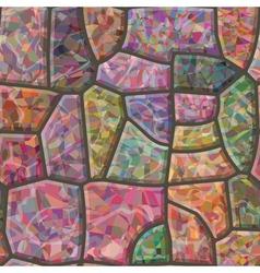 Stone mosaic seamless texture vector