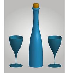 wine 1 v vector image