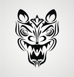Tribal Demon Face vector image vector image