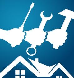 Home repairs vector image