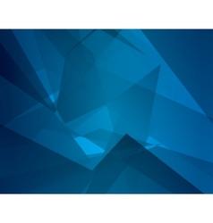 Abstract dark blue background with broken lines vector image vector image