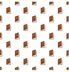 book ajar pattern seamless vector image