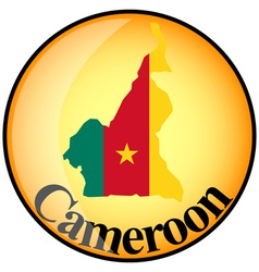 Button Cameroon vector