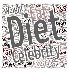 Do Popular Fad Diets Work text background vector