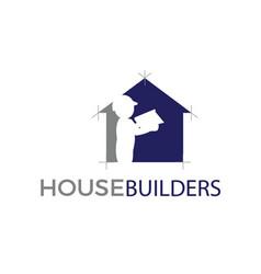 House builders vector