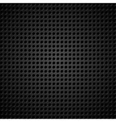 metallic background with holes vector image vector image