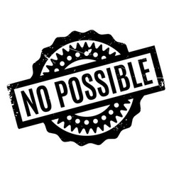 No possible rubber stamp vector