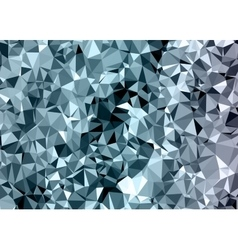 Polygonal abstract background low poly gray and vector image