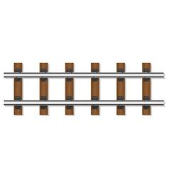 Railway rails 01 vector