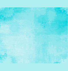 Turquoise background as if watercolor vector