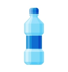 Water bottle vector image