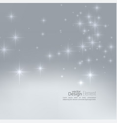 with festive flares vector image