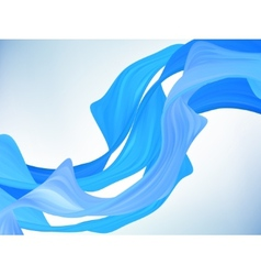 Abstract blue motion background EPS 8 vector image vector image