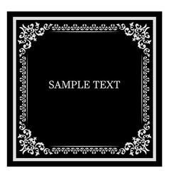 frame vintage vector image vector image
