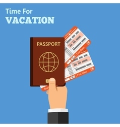 Vacation and Tourism Concept vector image vector image