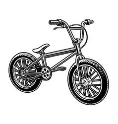 A bmx bicycle vector