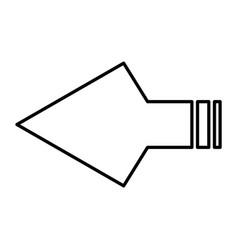 arrowheads vector image