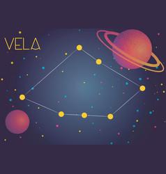 Constellation vela vector