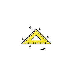 geometry icon design vector image