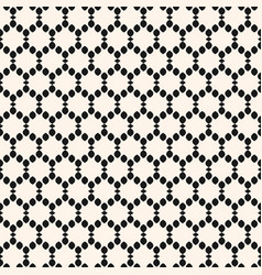Seamless pattern with small shapes hexagones vector