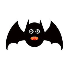 Vampire for halloween decoration vector