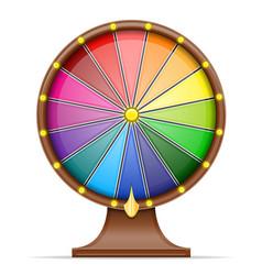 Wheel fortune stock vector