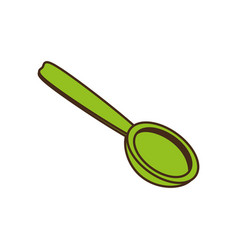 Spoon cutlery kitchen cooking image vector