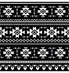 Tribal aztec seamless pattern print vector image