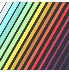 Bright color diagonal rectangles colorful design vector image