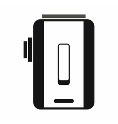 Charger icon simple style vector image