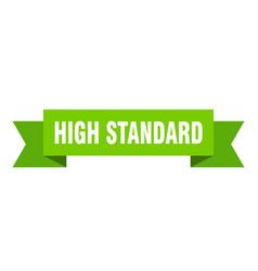 High standard vector