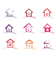 home collection vector image