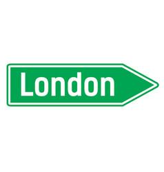 London city sign vector
