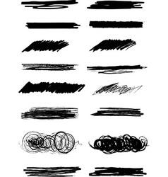 Marker lines vector