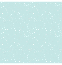 Snowing in the sky seamless background vector image