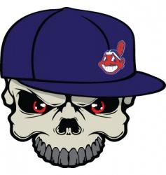 Indians skull vector image vector image
